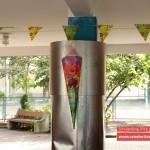 Dekoration im Aussenbereich | Schulanfang Wiederitzsch 2014