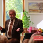 Der Schulleiter Herr Casper begrüßt die Schulanfänger | Schulanfang Wiederitzsch 2014