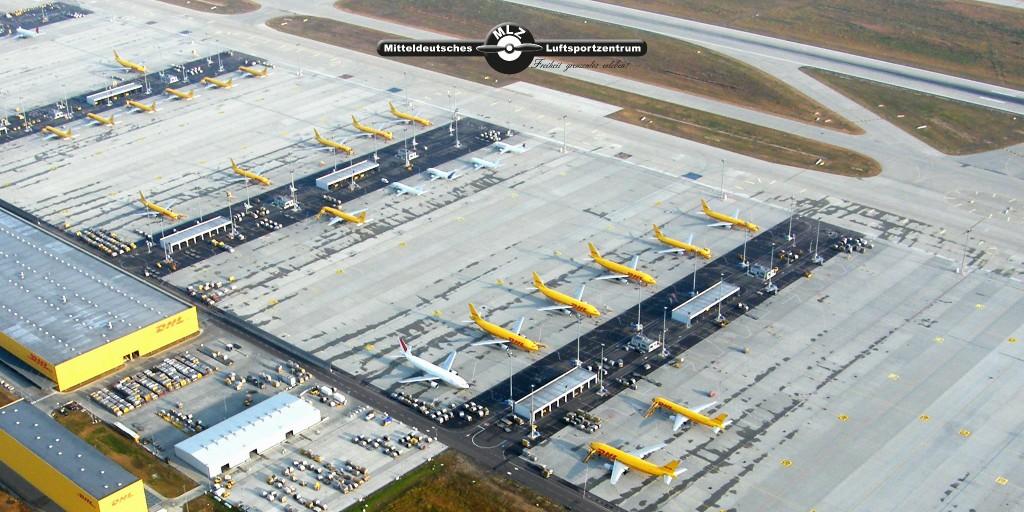 Flughafen Halle/Leipzig (c) MLZ -Mitteldeutsches Luftsportzentrum