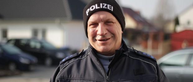 Bürgerpolizist Wiederitzsch - Polizeihauptmeister Ralf-Peter Kostka
