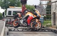 Wiederitzsch Unfall Motorrad