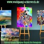 Malerei von Wolfgang Schieweck