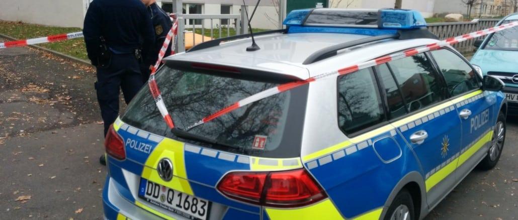 Polizei vor Ort: Oberschule Wiederitzsch
