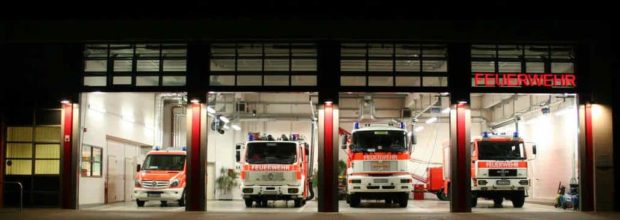 Gleich 2 Einsätze der Freiwilligen Feuerwehr Wiederitzsch auf ehemaligen Kasernengelände (29.03.2017)