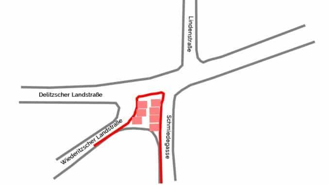 Umbauplanung Neue Mitte Wiederitzsch