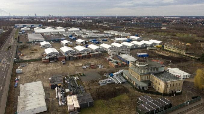 Verteilzentrum Asyl Sachsen Mockau Erstaufnahme EAE