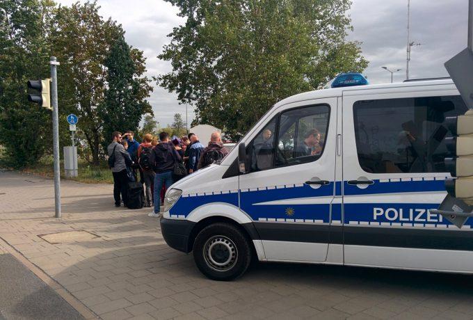 Polizeieinsatz in Wiederitzsch: