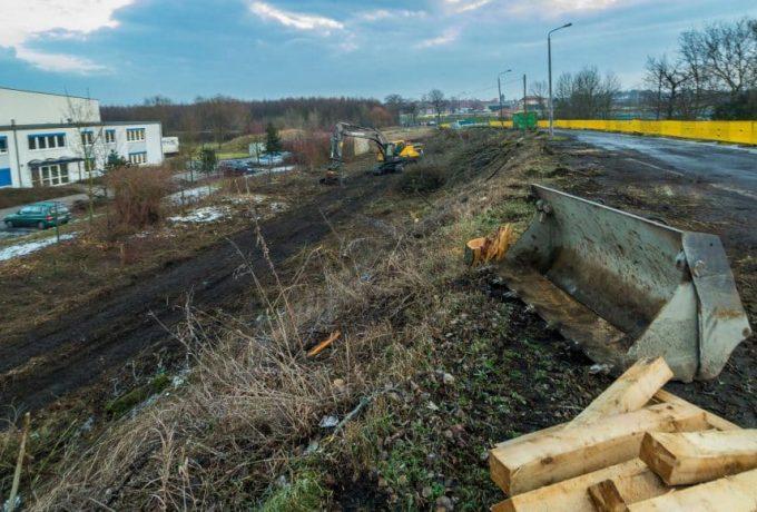 Baumfällarbeiten Landsberger Brücke