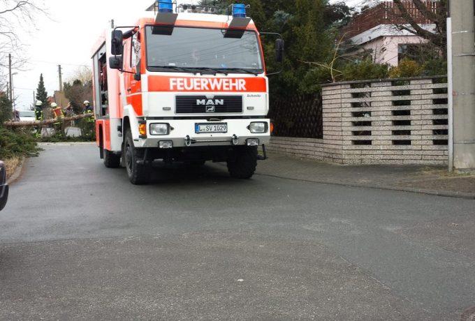 Feuerwehr Wiederitzsch bei der Arbeit