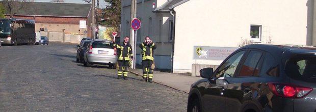 Geschwindigkeitsmessungen durch die Freiwillige Feuerwehr Wiederitzsch