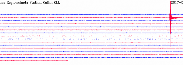 Erdbeben in Wiederitzsch