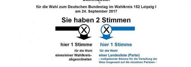 Bundestagswahl 2017 in Wiederitzsch – Alternative für Deutschland zweitstärkste Kraft