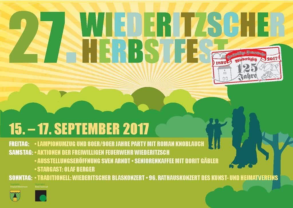 27. Wiederitzscher Herbstfest 2017