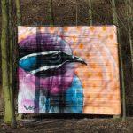 Ein neues Graffiti ist seit gestern zu sehen.