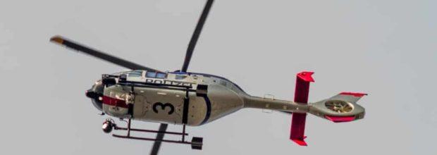 Nächtlicher Hubschrauber auch über Wiederitzsch – Planenschlitzer in Haft