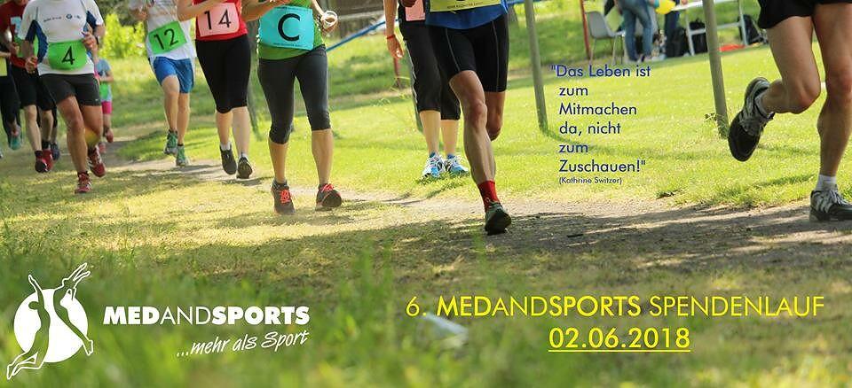 6. MEDANDSPORTS - Spendenlauf am 02.06.2018