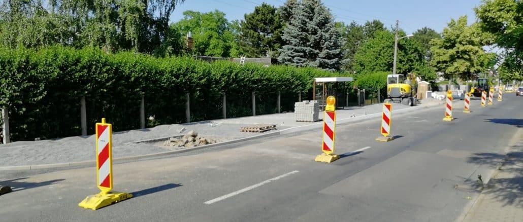 Wiederitzsch: behindertengerechter Ausbau von Bushaltestellen