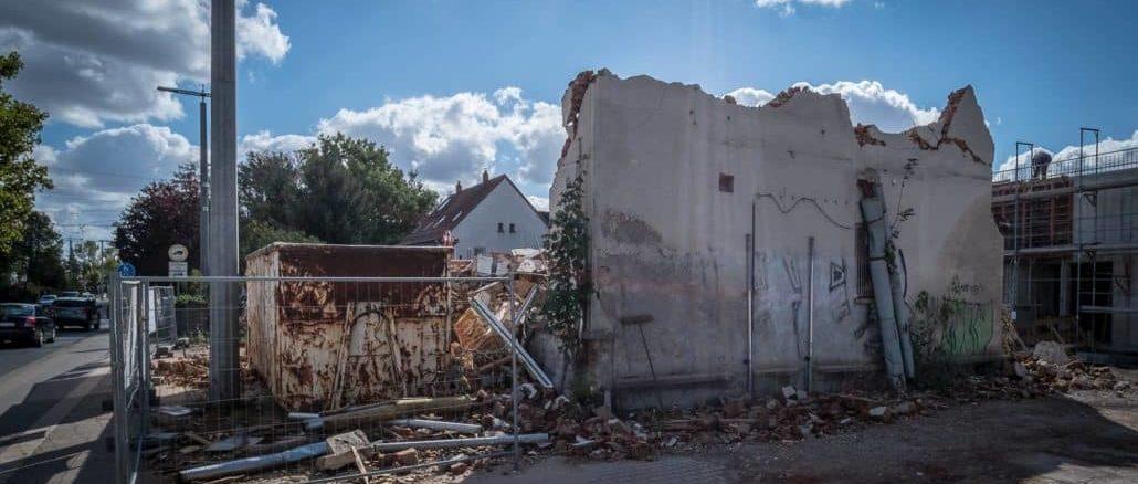 Abriss Haus Wiederitzsch