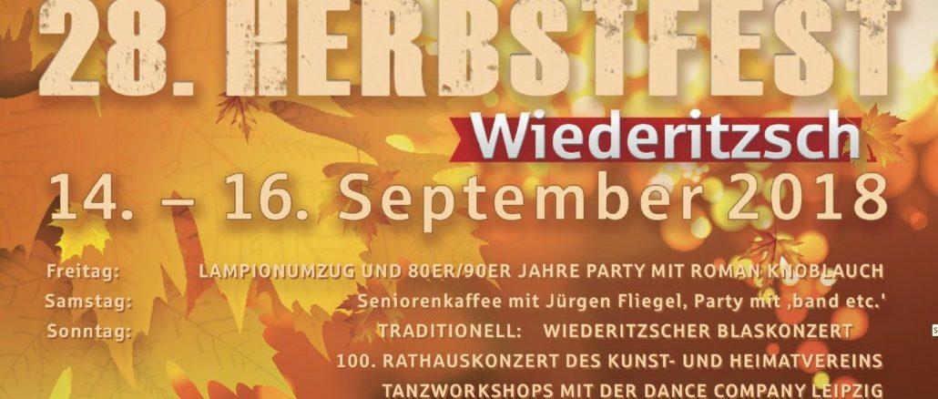 28. Wiederitzscher Herbstfest