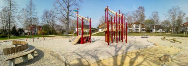 Spielplatz Stentzler Straße  Wiederitzsch eröffnet