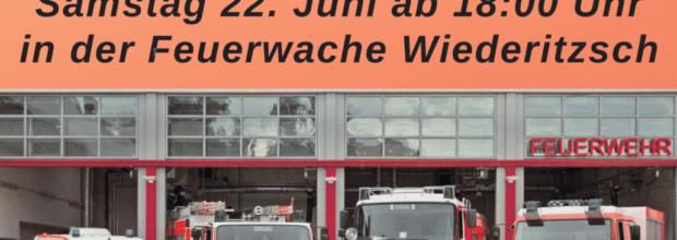 Freiwilligen Feuerwehr Wiederitzsch – Tag der offenen Tür und Feuerwehrball