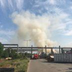 Großbrand im Norden von Leipzig