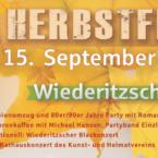Programm 29. Wiederitzscher Herbstfest – Freitag, 13.09.2019