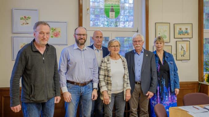Gruppenfoto Ortschaftsrat Wiederitzsch 2019